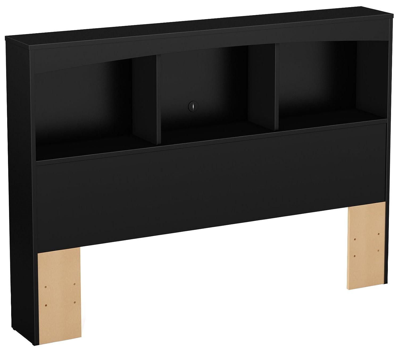 South Shore Furniture 54-Inch Step One Bookcase/Headboard, Full, Chocolate 3159079