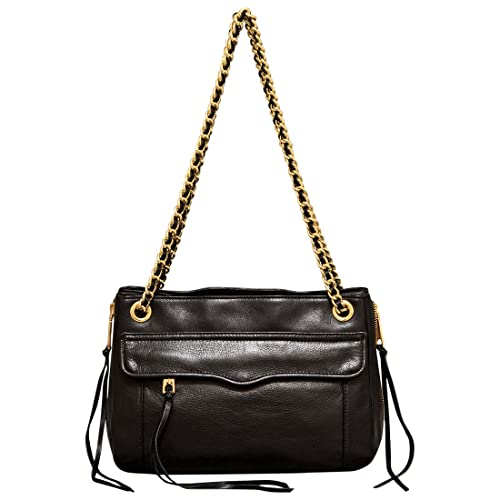 Rebecca Minkoff Swing Shoulder Bag in Black  Amazon.in  Shoes   Handbags 3d471791d5eb8