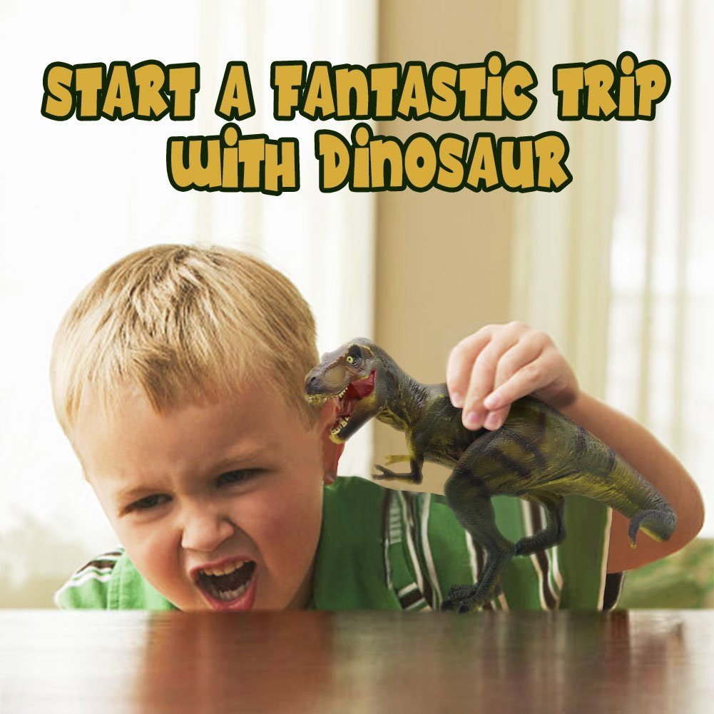 Fajiabao Tyrannosaurus Dinosaur Toy Realistic T- Rex for Toddlers Kids Girls Boys Educational Toy