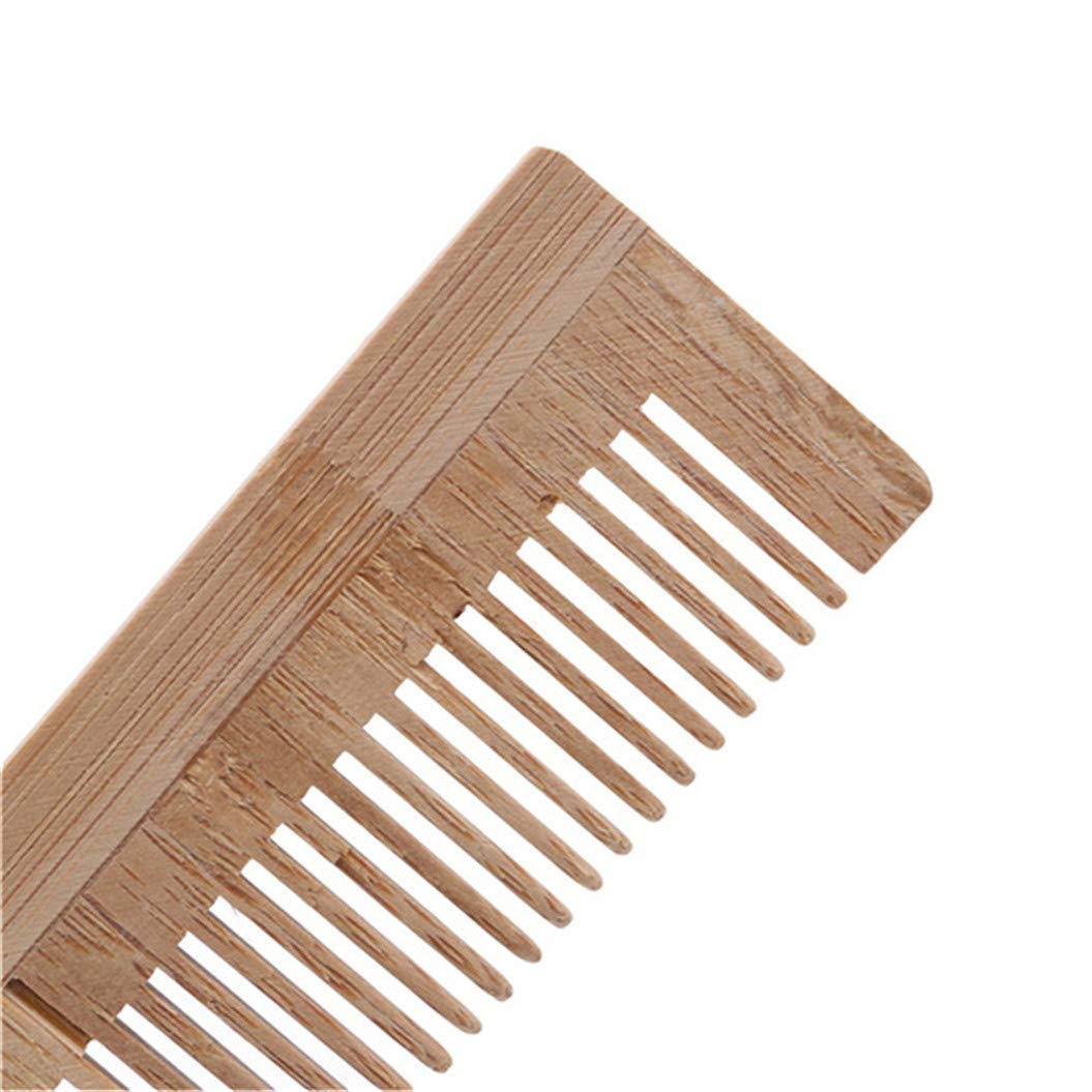 LZIYAN Bamboo Disposable Comb Hotel Hair Comb Fine Tooth Detangling Tool Hair Care Accessories by LZIYAN (Image #5)