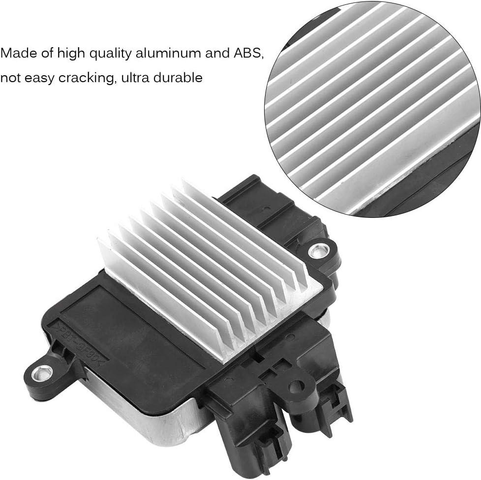 Qiilu 8925730060 Radiator Cooling Fan Control Module Unit for Toyota RAV4 Sienna Lexus Camry Highlander Venza Avalon