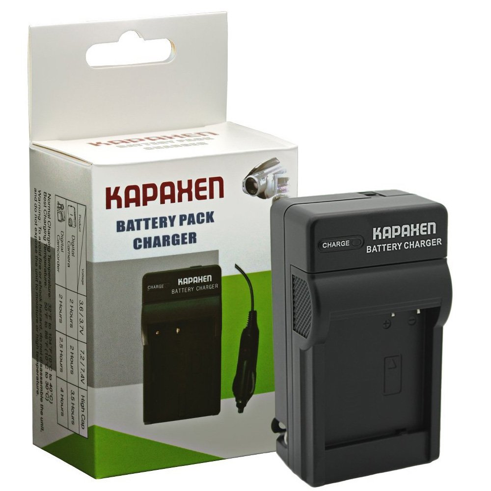 Kapaxen Two High Capacity BP-DC15 Batteries & Charger Kit for Leica D-Lux (Type 109) Cameras by KAPAXEN (Image #1)