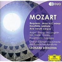 Mozart: Requiem; Mass in C minor; Exultate, Jubilate; Ave verum corpus