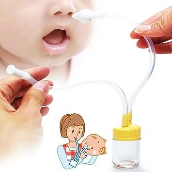 Cómo limpiar los mocos de la nariz del bebé