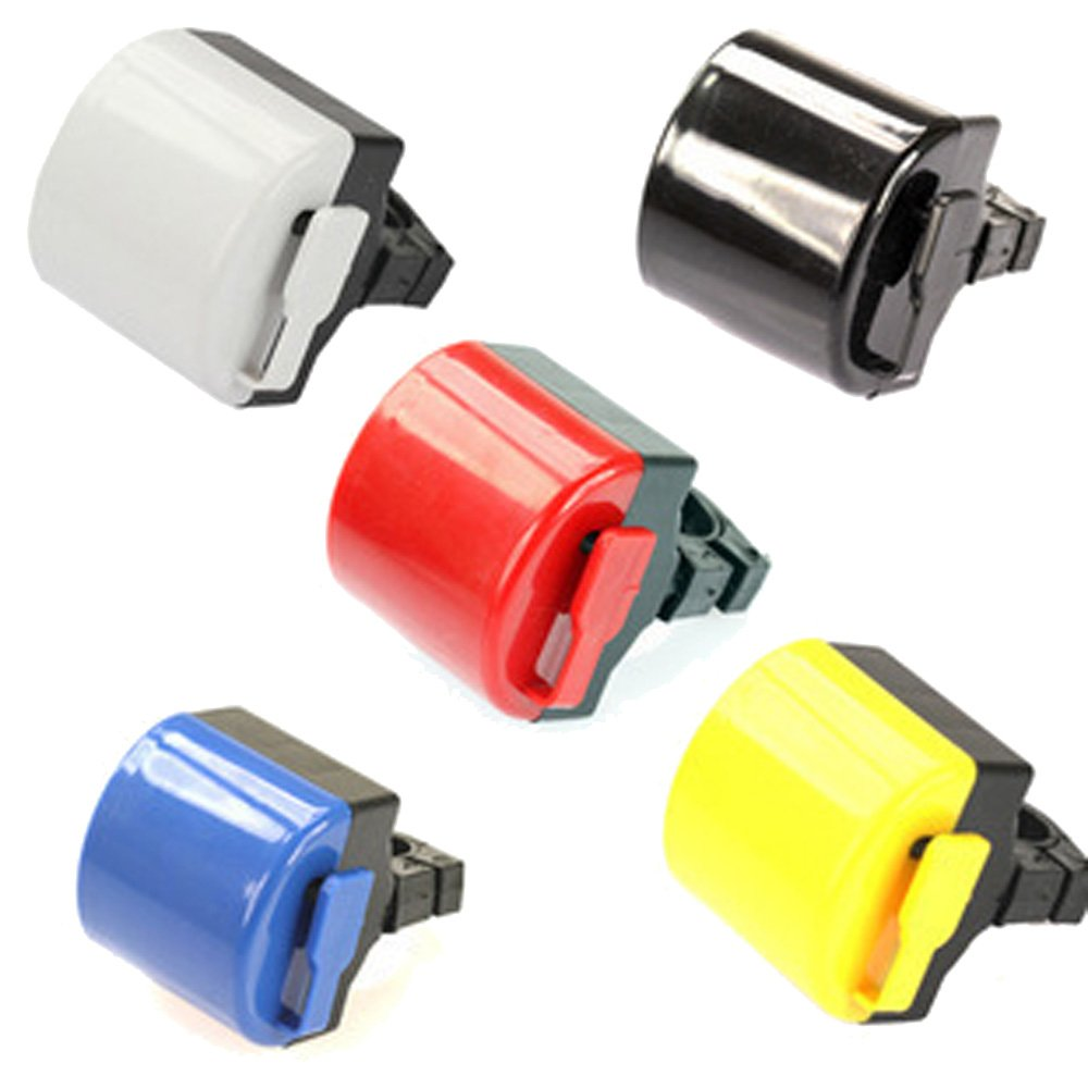 5pcs Electronic Bicycle Bike Cycling Alarm Bell Horn Siren Powered By 2x AAA Battery