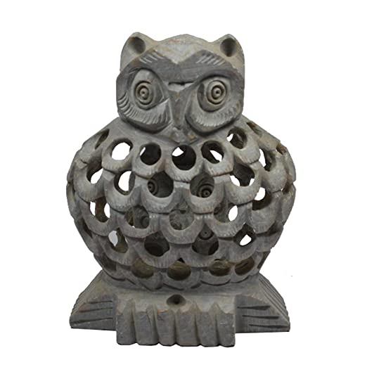Amazon Com Royal Handicrafts Handcrafted Soapstone Owl With Baby