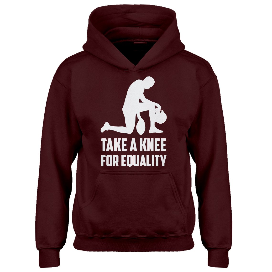 Indica Plateau Youth Players Take The Knee for Equality Kids Hoodie