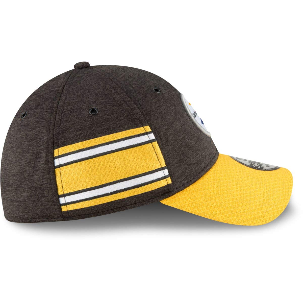 New Era 2018 39Thirty NFL Pittsburgh Steelers Sideline Home Hat Cap ... 2d5bceb83