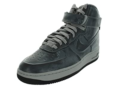 promo code for black grey mens nike air force 1 high shoes