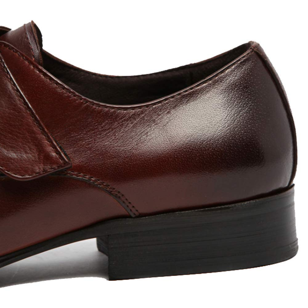 YCGCM Herrenschuhe, England, Business, Schuhe Mode, Spitz, Bequem, Niedrige Schuhe Business, WineROT 7b3e1e