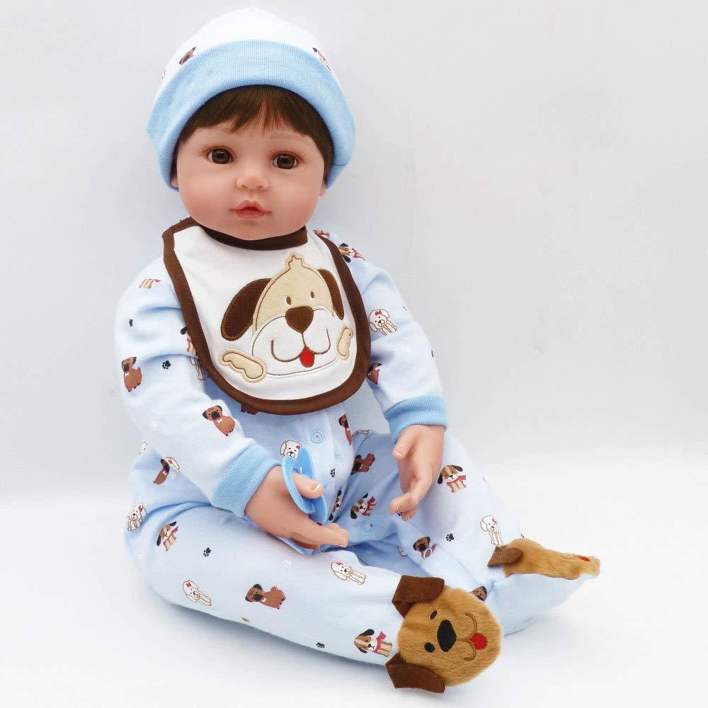 CYdoll 61cm Realistisch Reborn Babies Puppe Lebensecht Simulations-Dummy