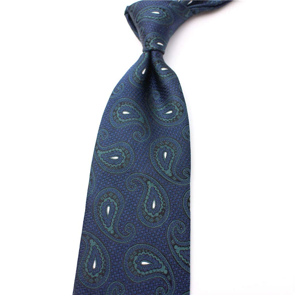 Vintage Mens Silk Navy Business Solid Ties Gift Box LDG Floral Paisley Wedding Necktie