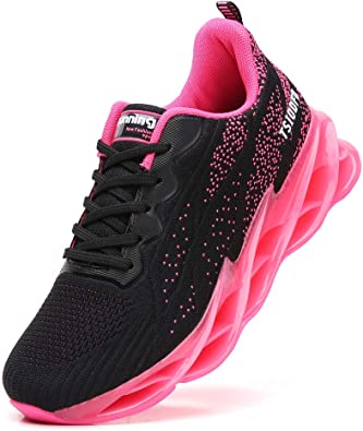 TSIODFO Women Sport Walking Shoes mesh