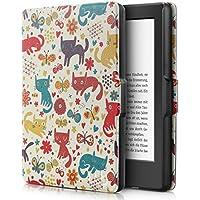 Capa Novo Kindle Paperwhite à prova d'água WB® Ultra Leve Auto Hibernação Fecho Magnético (Cats)