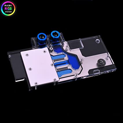 Bykski RGB VGA GPU Water Cooling Block For EVGA GTX970 GTX770 GTX760