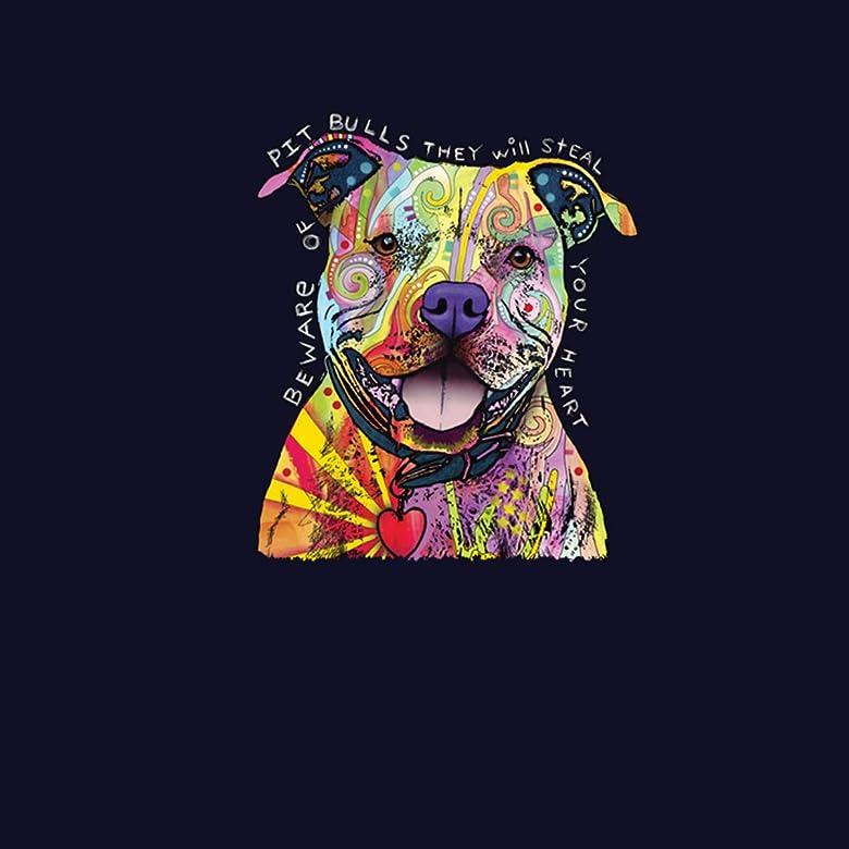 Pitbull Hund Tiere Damen T-shirt XS-3XL Neu