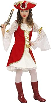 piratin Disfraz Disfraz de pirata Niños piratinnen Disfraz medieval ...