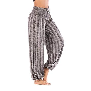 6990c42f73af16 Ansenesna Haremshose Damen Grosse Grössen Lang Sport Leggings Freizeithosen  Mit Gummibund Mädchen Yoga Locker Fit (