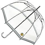 【正規輸入品】 フルトン バードケージ 1 UV 全4色 長傘 手開き 日傘/晴雨兼用 シルバー 8本骨 60cm グラスファイバー骨 3194154