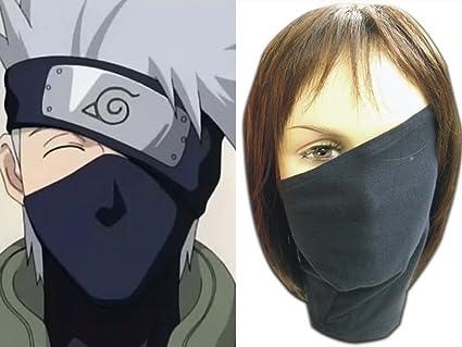 Amazon.com: Máscara de cosplay Anime Naruto Hatake Kakashi ...