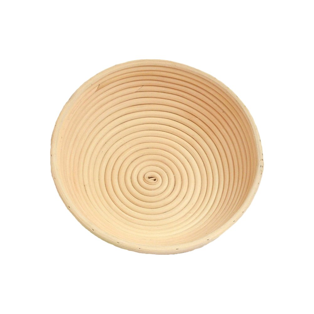 Strimm 6 Sizes (from almost 5 to 8, 9, 10inch) Handmade Rattan Cane Round Fermented Bread baking Banneton Proofing Proofer Basket