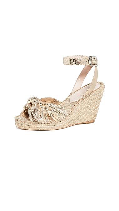 79daa70db1126 Amazon.com: Loeffler Randall Women's Tessa Bow Wedge Espadrille: Shoes