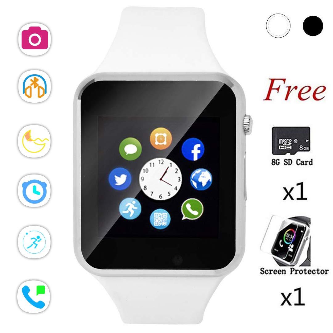 Bluetooth Smart Watch,Touch Screen Sport Wrist Watch Phone ...
