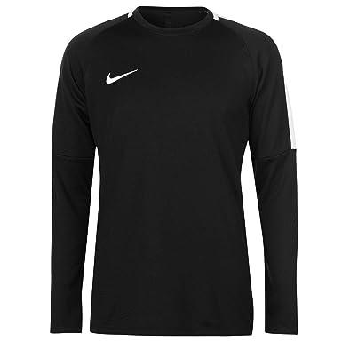 ab00784e7a3e7 Amazon.com: Nike Academy Crew Neck Football Training Sweatshirt Mens ...