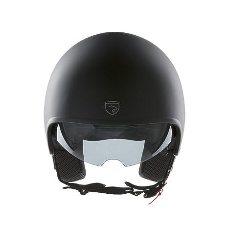 Panthera casco de moto full jet Vintage negro mate talla M