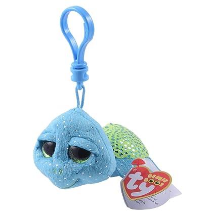 0c5d051028a Amazon.com  SeaWorld Ty Beanie Boos Exclusive Turtle Clip Plush  Toys    Games