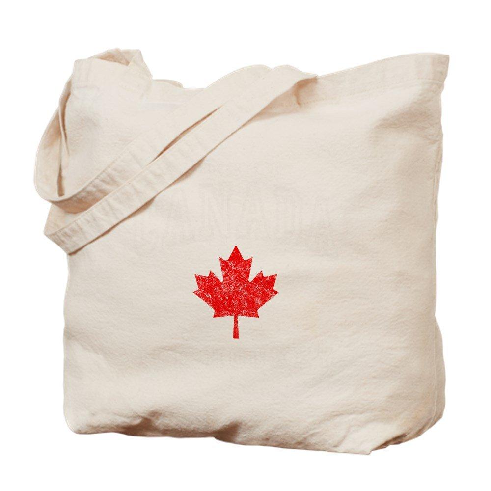 CafePress – Canada Hockey – DK – ナチュラルキャンバストートバッグ、布ショッピングバッグ B00WJEE31W