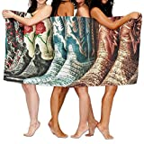 KTMB Country Music Cowboy Boots Washable Extra Large Bath Beach Towel Soft Personality Towel