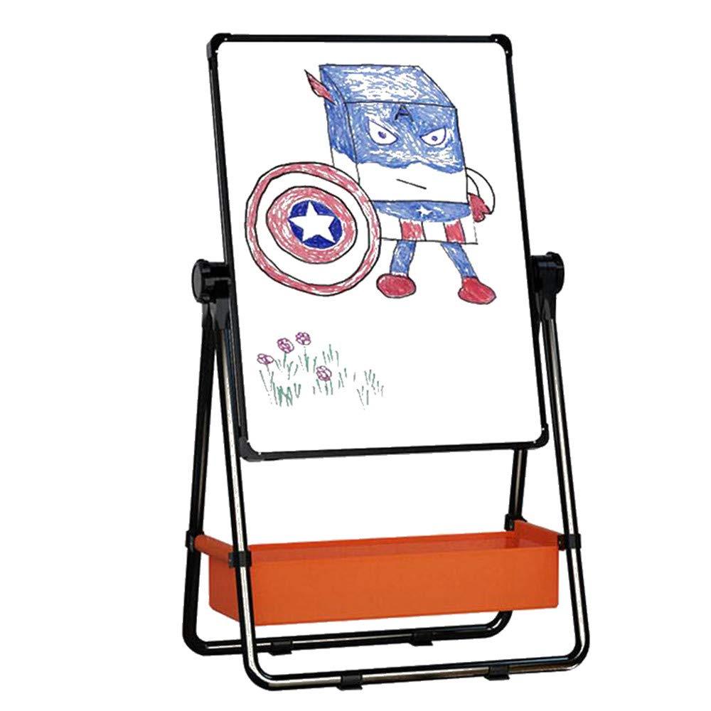 Cavalletto d'arte verdeicale di lusso Tavolo da disegno per bambini può lavorare sollevamento ponteggi per bambini a casa U Graffiti magnetici tavola da coloreare bordo Lavagna a secco, lavagna, rotolo