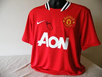new product 9fe9b 82420 Sportagraphs ASHLEY YOUNG HAND SIGNED AUTOGRAPH MANCHESTER ...