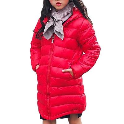 Foutou Winter Children's Girls Boys Cotton Hooded Warm Down Jacket Coats Kids Outerwear