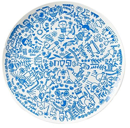 Passover Seder Plate, Barbara Shaw Gifts, Jewish Holidays, Made in Jerusalem by Barbara Shaw Gifts