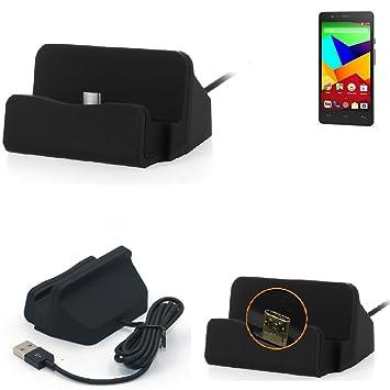 K-S-Trade Base de Carga para BQ Aquaris E5 LTE Micro USB ...