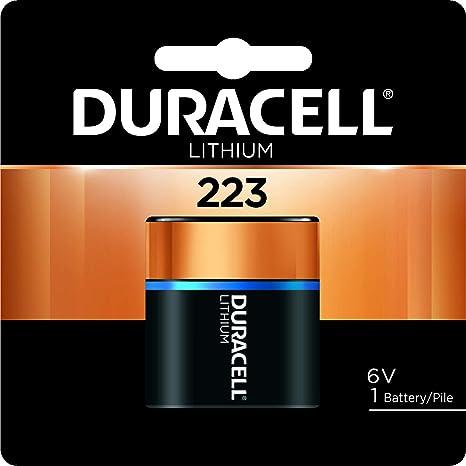 Ultra High Power Lithium Battery 223 6v Sold As 1 Elektronik