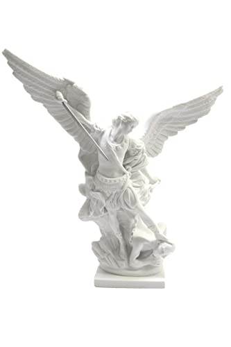 16 Saint St Michael The Archangel Italian Catholic Statue Sculpture Figurine Religious Protection Vittoria Collection Made in Italy