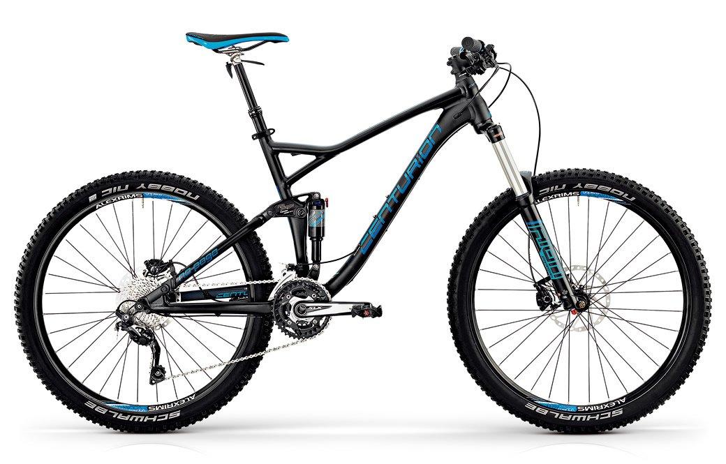 センチュリオン 2016 NO POGO800.27 マウンテンバイク B079GTW9Y4  マットブラック 38cm160~175cm