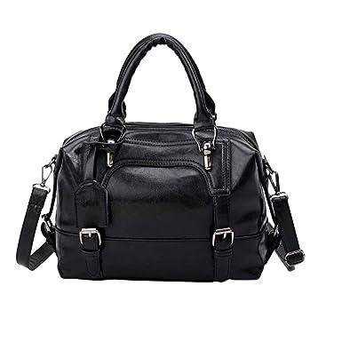 a7061983ad Amazon.com  Rakkiss Women Vintage Bag Four Belts Shoulder Bags Sequined Women  Handbags Big Capacity Crossbody Handbag (One Size