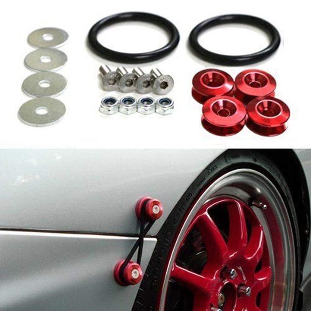 Bobury Auto-Sto/ßstangen Schnellverschl/üsse Werkzeug-Sets Auto Fahrzeug Auto Trunk Fender Hatch Kits