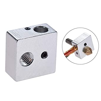 Anet - Bloque de calentador de aluminio para impresora 3D, 20 x 20 ...