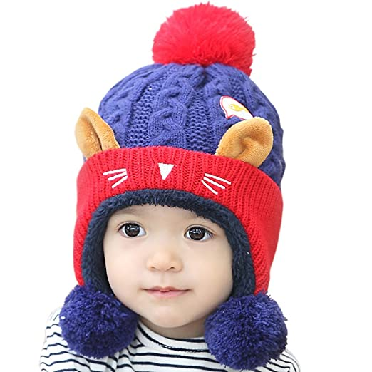 Amazoncom Rieket Baby Girls Boys Hats Winter Warm Cap Hat Beanie