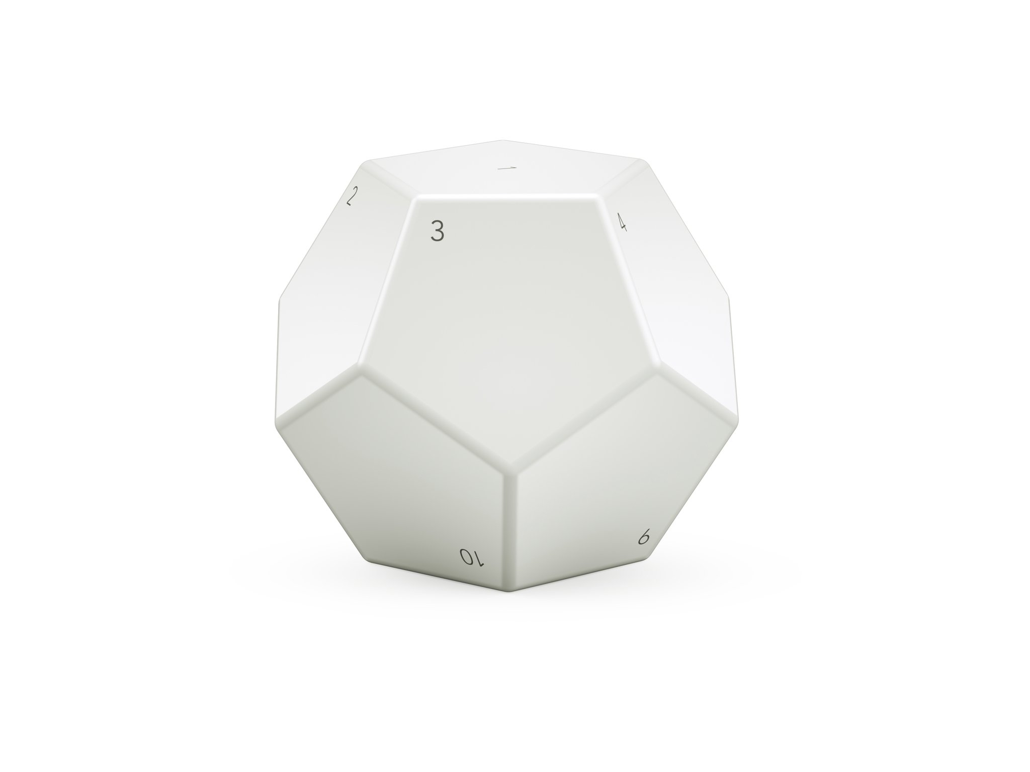 Nanoleaf Smart Remote Control Battery Powered Programmable Bluetooth Home Kit, White