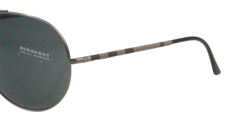 Amazon.com: BURBERRY BE3055-101487 Mens Sunglasses: Burberry ...
