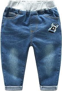 Mud Kingdom Toddler Boys Denim Pants Jeans Embroidery
