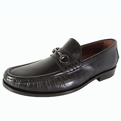 Cole Haan Mens Pinch Gotham Bit Slip on Loafer Shoes, Black, US 8
