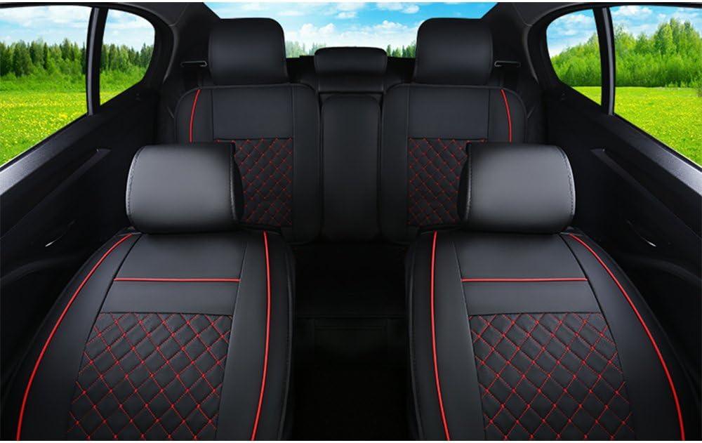 2 Fronts TOYOTA YARIS 2006-2011 Heavy Duty Black Waterproof Car Seat Covers