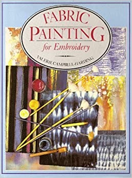 Book Fabric Painting for Embroidery